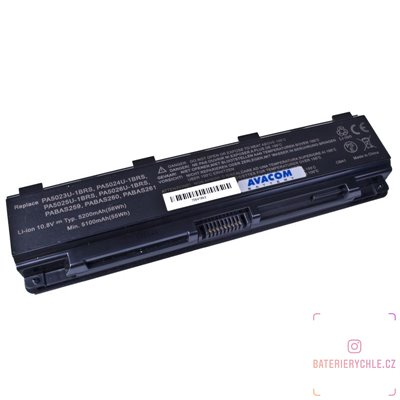 Baterie pro notebook Toshiba Satellite L850 Li-Ion 10,8V 5200mAh/56Wh black 1ks