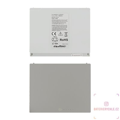 Baterie pro notebook MacBookPro 15, A1175, 5600mAh, 10.8-11.1V