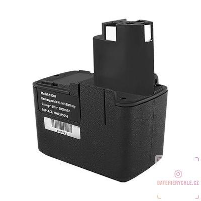 Baterie pro aku nářadí Bosch 3300K, PSR 12VE, 12V