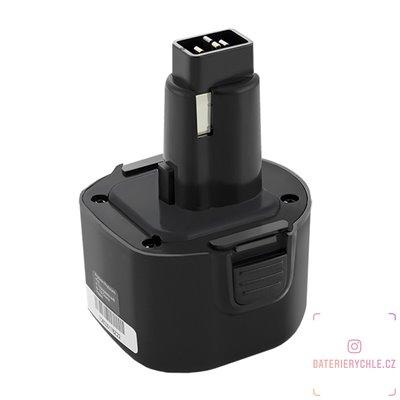 Baterie pro aku nářadí Dewalt/Black & Decker DE9062, DW9061, A9251, 9.6V