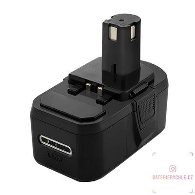 Baterie pro aku nářadí RYOBI BPL-1815, BPL1820, P102