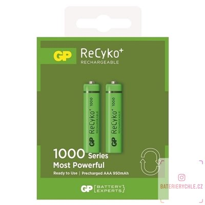 Baterie GP Batteries AAA 1000mAh 2ks, blistr