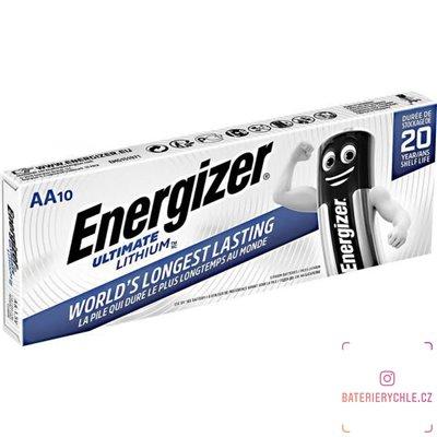 Baterie Energizer Ultimate AA 10ks
