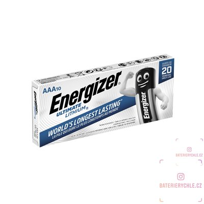 Baterie Energizer Ultimate AAA 10ks