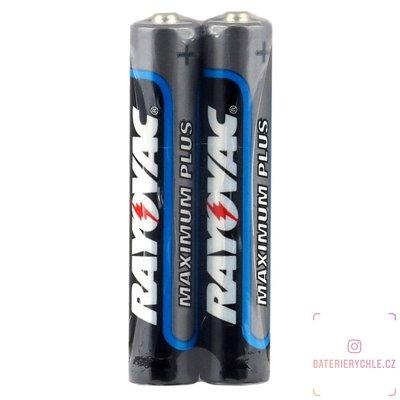 Baterie  Rayovac 25A, AAAA, LR61, LR8, 1.5V, 2ks, fólie