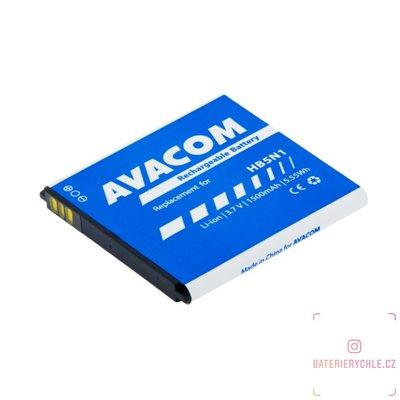Baterie do mobilu Huawei G300 Li-Ion 3,7V 1500mAh (náhrada HB5N1H) 1ks