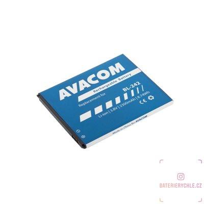 Baterie do mobilu Lenovo A6000 Li-Ion 3,8V 2300mAh (náhrada BL242) 1ks