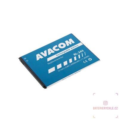 Baterie do mobilu Lenovo A7000 Li-Ion 3,8V 3000mAh (náhrada BL243) 1ks
