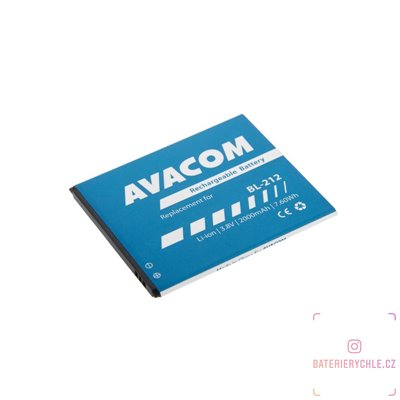 Baterie do mobilu Lenovo S580 Li-Ion 3,8V 2000mAh (náhrada BL212) 1ks