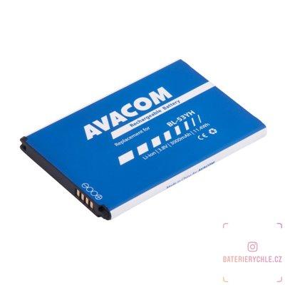 Baterie do mobilu LG D855 G3 Li-Ion 3,8V 3000mAh (náhrada BL-53YH) 1ks