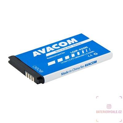 Baterie do mobilu LG GM360 Li-Ion 3,7V 900mAh, (náhrada  LGIP-430N) 1ks