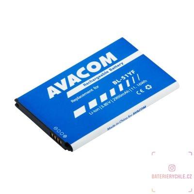 Baterie do mobilu LG H815 G4 Li-Ion 3,85V 2900mAh (náhrada BL-51YF) 1ks