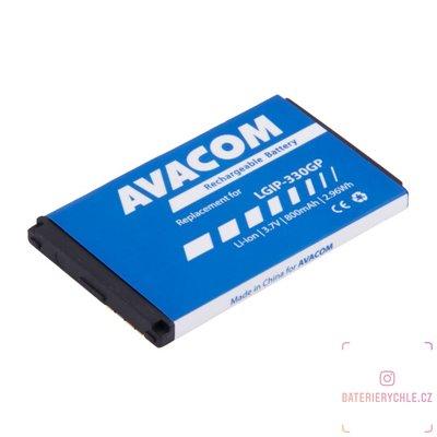 Baterie do mobilu LG KF300 Li-Ion 3,7V 800mAh (náhrada LGIP-330GP) 1ks