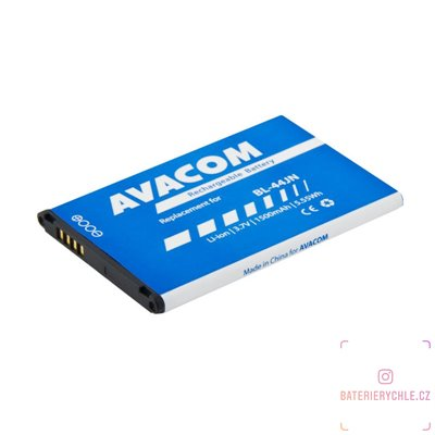 Baterie do mobilu LG Optimus Black P970 Li-Ion 3,7V 1500mAh (náhrada BL-44JN) 1ks