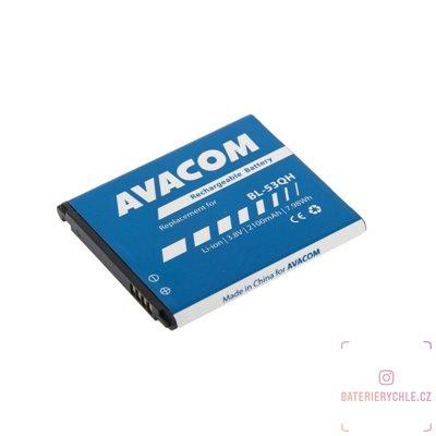 Baterie do mobilu LG Optimus L9 II  Li-Ion 3,8V 2100mAh, (náhrada BL-53QH) 1ks