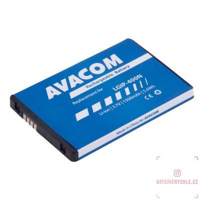 Baterie do mobilu LG P500 Optimus One  Li-Ion 3,7V 1500mAh (náhrada LGIP-400N) 1ks