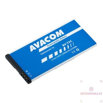 Baterie do mobilu Microsoft Lumia 640 Li-Ion 3,8V 2500mAh (náhrada BV-T5C) 1ks