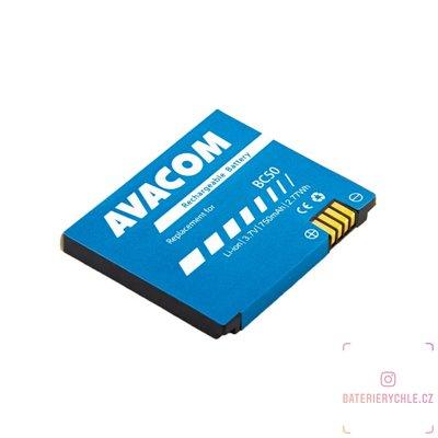 Baterie do mobilu Motorola L6 Li-Ion 3,7V 750mAh (náhrada BC50) 1ks