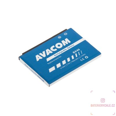Baterie do mobilu Motorola U9, V9, V9x Li-Ion 3,7V 740mAh (náhrada BX40) 1ks