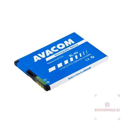 Baterie do mobilu Nokia E7, N8 Li-Ion 3,7V 1200mAh (náhrada BL-4D) 1ks