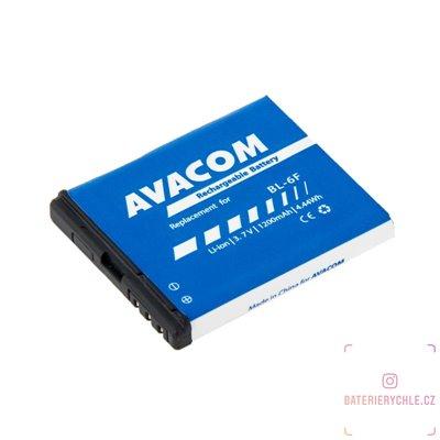Baterie do mobilu Nokia N78 Li-Ion 3,7V 1200mAh (náhrada BL-6F) 1ks