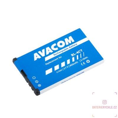 Baterie do mobilu Nokia 5310 XpressMusic Li-Ion 3,7V 860mAh (náhrada BL-4CT) 1ks