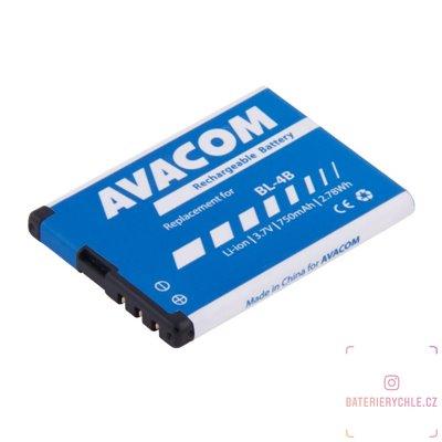 Baterie do mobilu Nokia 6111 Li-Ion 3,7V 750mAh (náhrada BL-4B) 1ks