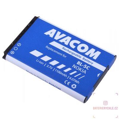 Baterie do mobilu Nokia 6230, N70, Li-Ion 3,7V 1100mAh (náhrada BL-5C) 1ks