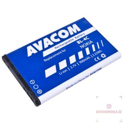 Baterie do mobilu Nokia 6300 Li-Ion 3,7V 900mAh  (náhrada BL-4C) 1ks