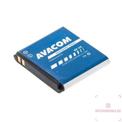 Baterie do mobilu Nokia 8800  Li-Ion 3,7V 570mAh (náhrada BL-5X) 1ks