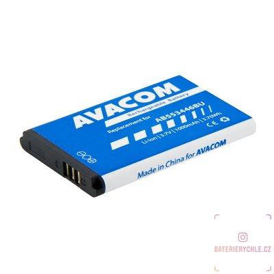 Baterie do mobilu Samsung B2710, C3300 Li-Ion 3,7V 1000mAh, (náhrada AB553446BU) 1ks