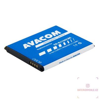 Baterie do mobilu Samsung Galaxy J1 Li-Ion 3,85V 1850mAh, (náhrada EB-BJ100CBE) 1ks