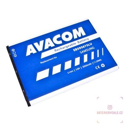 Baterie do mobilu Samsung Galaxy Note 2, Li-Ion 3,8V 3050mAh (náhrada EB595675LU) 1ks