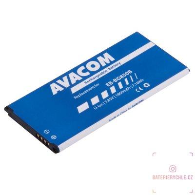 Baterie do mobilu Samsung G850 Galaxy Alpha Li-Ion 3,85V 1860mAh (náhrada EB-BG850BBE) 1ks