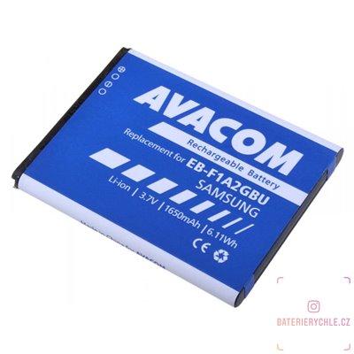 Baterie do mobilu Samsung i9100 Li-Ion 3,7V 1650mAh (náhrada EB-F1A2GBU) 1ks