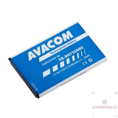 Baterie do mobilu Samsung Note 3 Neo Li-Ion 3,8V 3100mAh, (náhrada EB-BN750BBE) 1ks