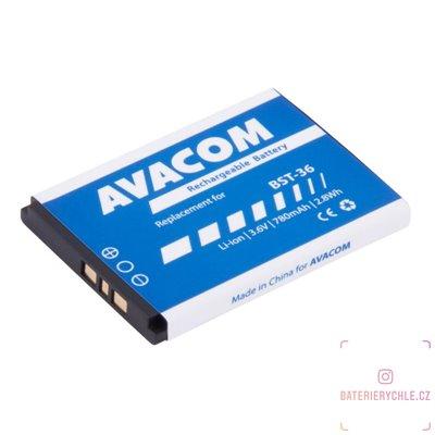 Baterie do mobilu Sony Ericsson J300, W200 Li-Ion 3,7V 780mAh (náhrada BST-36) 1ks
