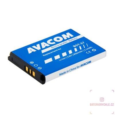 Baterie do mobilu Sony Ericsson K750, W800 Li-Ion 3,7V 900mAh, (náhrada BST-37) 1ks