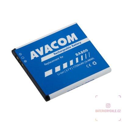 Baterie do mobilu Sony Ericsson Li-Ion 3,7V 1750mAh (náhrada BA800) 1ks