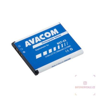 Baterie do mobilu Sony Ericsson U100, Elm Li-Ion 3,7V 1000mAh (náhrada BST-43) 1ks