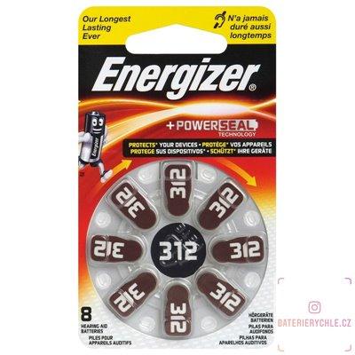 Baterie do naslouchadel Energizer 312 (PR41) 8ks, blistr