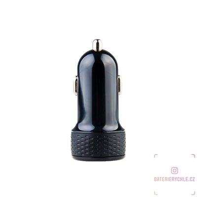 nabíječka do auta s výstupem USB 5V/1A, černá barva 1ks