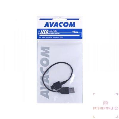 Nabíjecí USB kabel pro telefony LG KG800, KU990, KS360 (22cm) 1ks