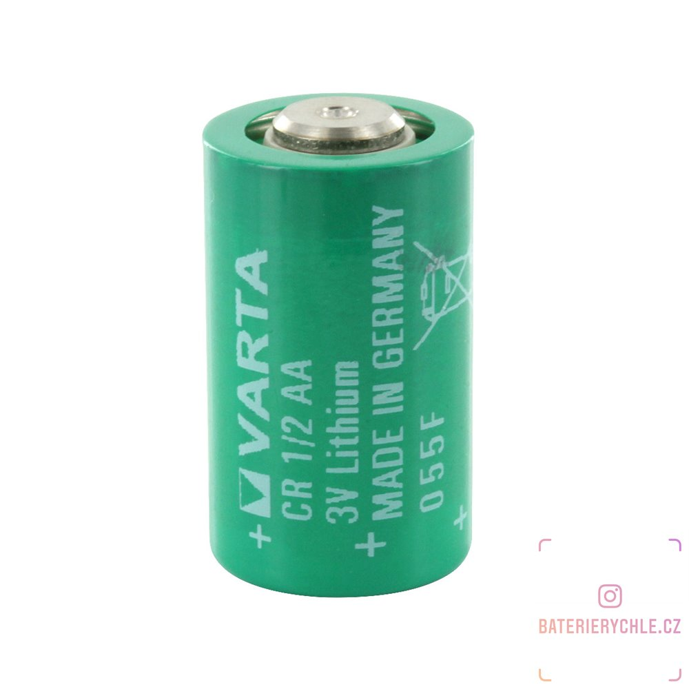 Baterie VartaCR1/2AA3V velikost 1/2AA LS14250 950mAh Lithium 1ks volné balení