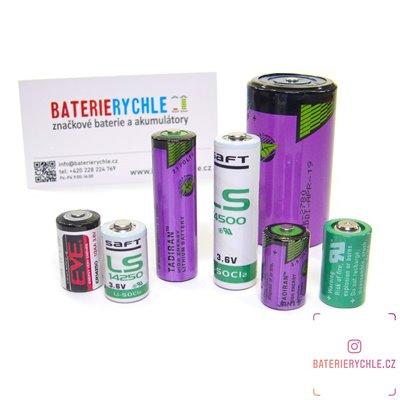 Baterie Saft LS14250 3,6V velikost 1/2AA s vývody 1200mAh, Lithium, 1ks volné balení