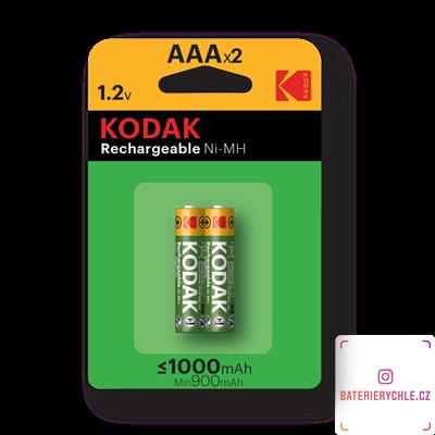 Nabíjecí baterie Kodak NiMH AAA 1000mAh 2ks, blistr