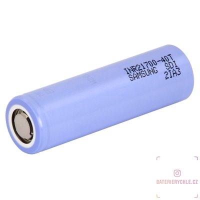 Baterie Samsung INR21700-40T 1ks 4000mAh (max.35A), volné balení
