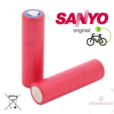 Baterie Sanyo NCR18650GA 3450mAh 1ks (max.10A), volné balení
