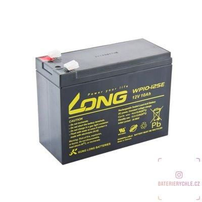 Long 12V 10Ah olověný akumulátor DeepCycle AGM F2 (WP10-12SE)