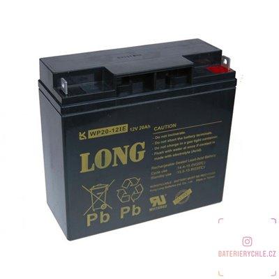 Long 12V 20Ah olověný akumulátor DeepCycle AGM F3 (WP20-12IE)
